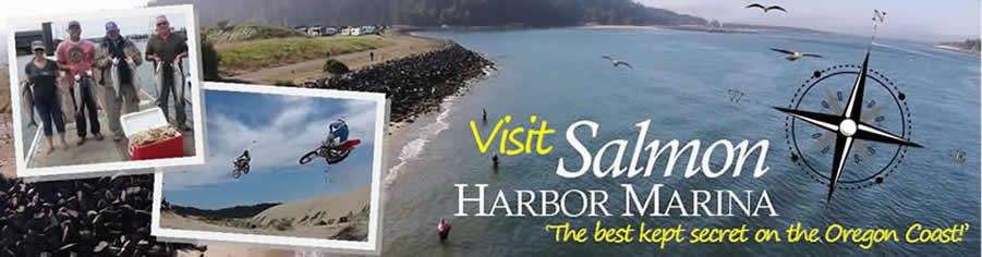 Visit Salmon Harbor Marina the Best Kept Secret on the Oregon Coast
