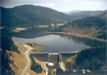 Galesville Dam and Reservoir